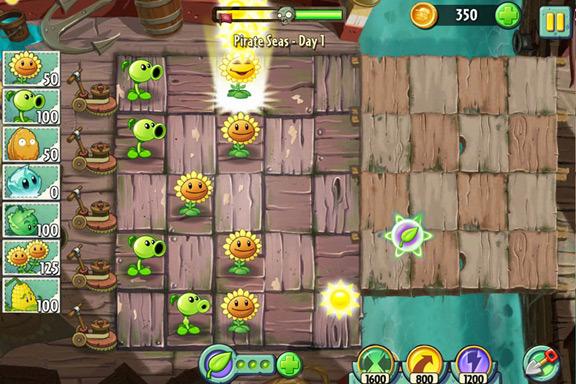 App: Plants vs Zombies 2 - The World Around